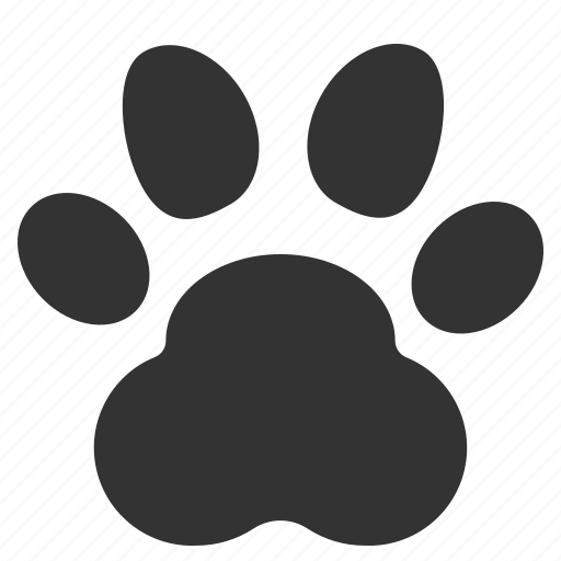 animals, cat, dog, nature, paw, pet icon
