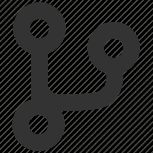 code, coding, fork, git, github icon