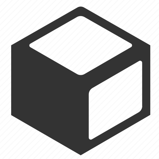 abstract, creative, cube, shape icon