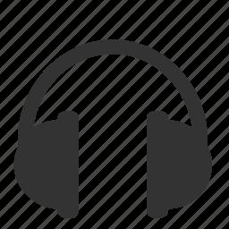 audio, control, headphones, multimedia, music, sound icon