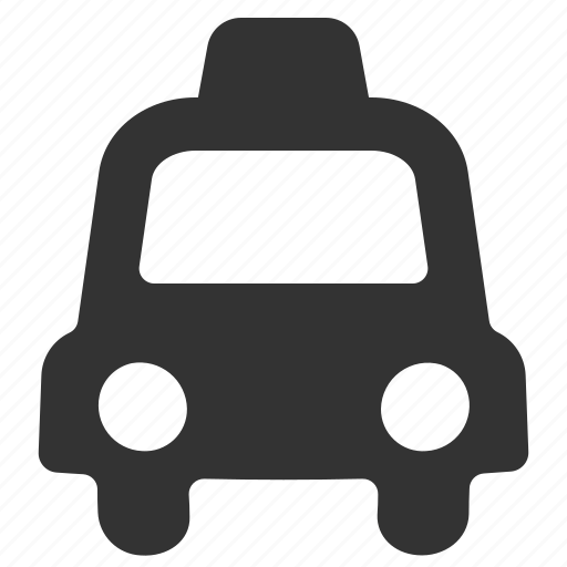 automobile, cab, lyft, taxi, traffic, transportation, uber icon