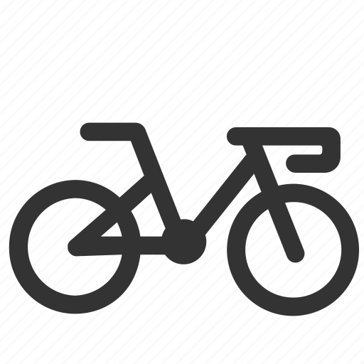 bicycle, bike, cycle, cycling, ride, road bike icon