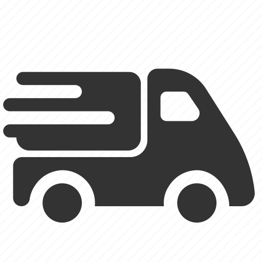 automobile, moving, shipping, transport, truck, vehicle icon