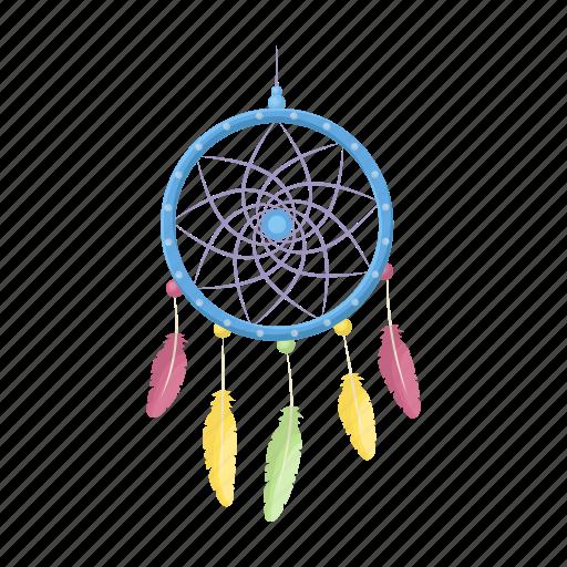 amulet, catcher, dream, hippie, talisman icon
