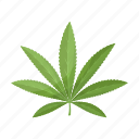 cannabis, drug, hemp, leaf, plant icon