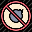 bomb, no icon