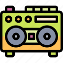 casette, player icon
