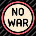 no, war icon