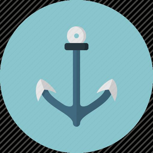 anchor, boat, sea, ship, shipping icon