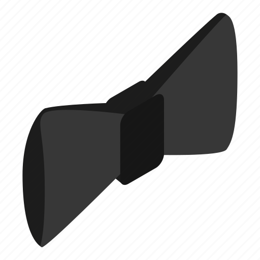 bow, ceremony, cloth, fashion, isometric, tie, tuxedo icon