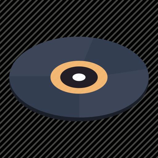 isometric, jukebox, label, music, record, rock, vinyl icon
