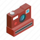 isometric, photo, photography, flash, polaroid, camera, white