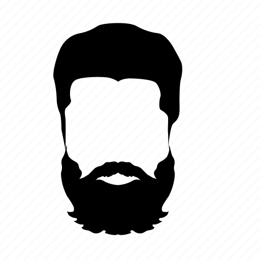 beard, hair style, hipster, man icon, men fashion, moustache icon