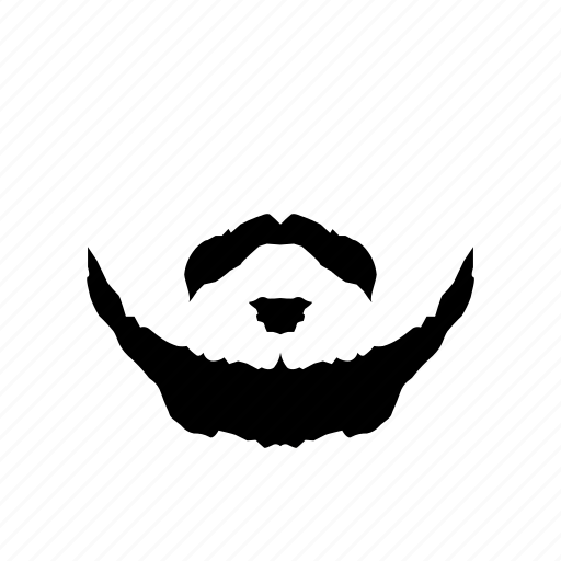 beard, fashion, hipster, male, man, manly, mustache icon icon