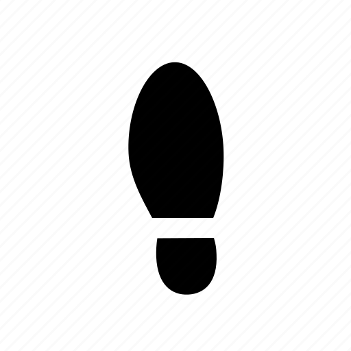feet, foot, footprint, human, step, trace, track icon