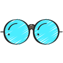 eyewear, free, glasses, hipster, on trend icon