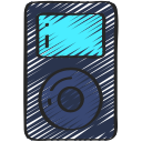 free, hipster, ipod, music, on trend icon