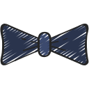 bow, fashion, free, hipster, on trend, tie icon