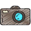camera, free, hipster, on trend, photography icon