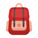 accessory, backpack, design, hipster, red, style icon