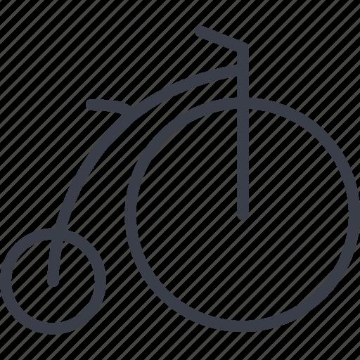 a bike, creative, hipster, retro icon