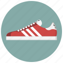 adidas, footwear, running, shoe, sneaker, sport, workout icon