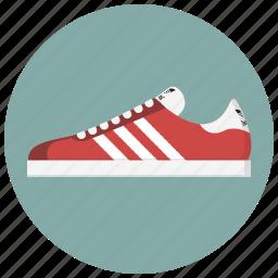 adidas, footwear, running, shoe, sneaker, sport, workout icon