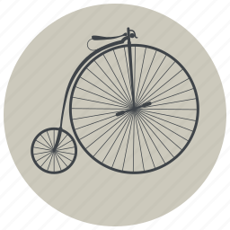 bicycle, bike, cycle, cycling, hipster, old bike, oldschool icon