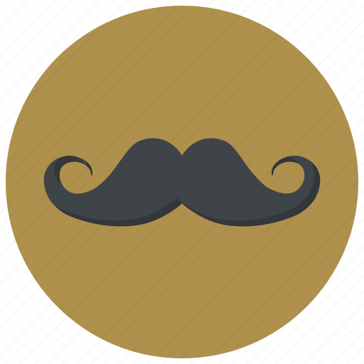 face, hipster, male, man, mustache, style, whisker icon