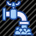 faucet, pipe, water, drop, plumbing