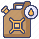 canister, fuel, gasoline, oil, petrol