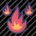 fire, flame, burn, hot, burning