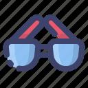 sun, sunglasses, glasses, summer