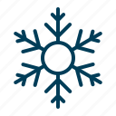 christmas, decoration, flake, ornament, snow, snowflake icon
