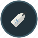 christmas, discount, sale, shopping, snowflake, winter icon