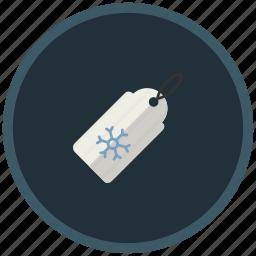 christmas, discount, sale, shopping, snowflake, winter icon
