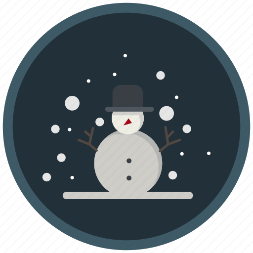 christmas, cold, frost, snow, snowman, winter icon