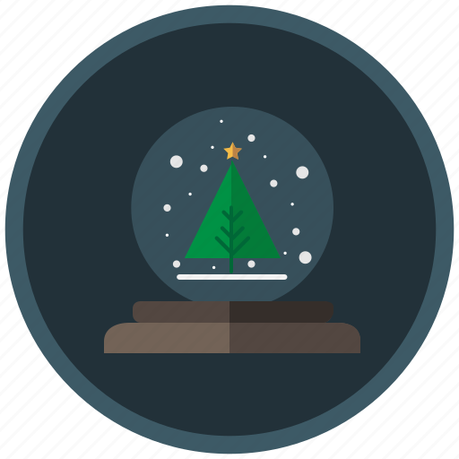 ball, christmas, decoration, snow, snow ball, tree, winter icon