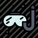 hobbies, hobby, swimming icon