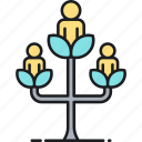 ancestor, family tree, genealogy icon