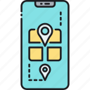 geocache, geocaching, gps, location icon