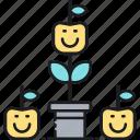 farming, gardening, organic, organic farming icon