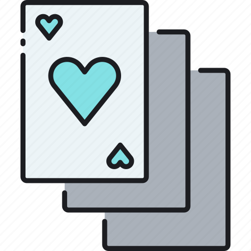 cards, playing cards, poker, poker cards icon