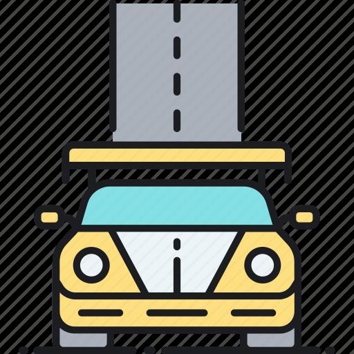 race car, racing, sports car icon