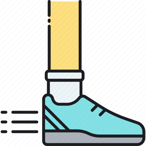 athlete, athletic, run, runner, running, shoes, sport shoes icon