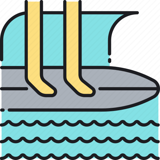 Surf, surfboard, surfing icon - Download on Iconfinder