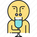taster, tasting, wine, wine taster, wine tasting icon