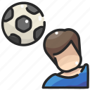football, game, people, soccer, sports, team icon