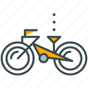 bike, exercise, hobby, ride, transportation icon