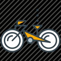 bike, exercise, hobby, ride, transportation icon